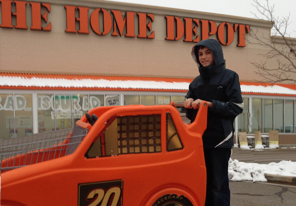 MY HOME DEPOT SHOPPING EXPERIENCE Dadventurous